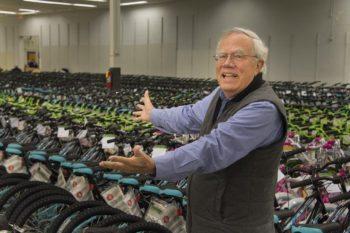 "Davidson ""Santa"" Gives Needy Kids The Wheels to Roll"